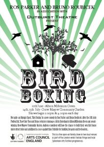 Bird Boxing Outburst Theatre