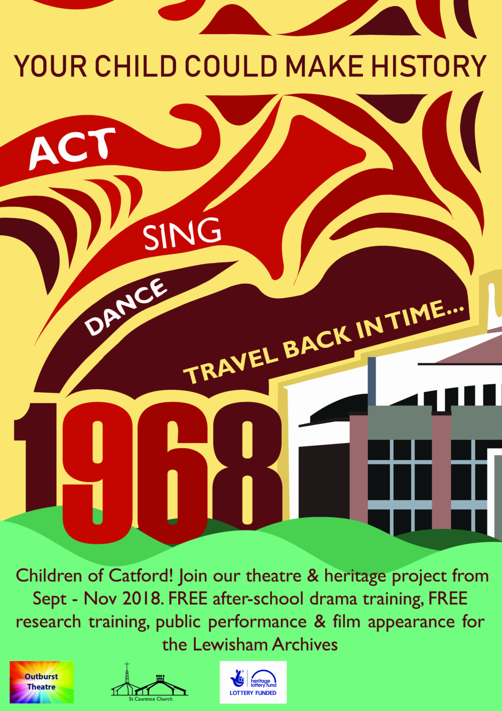 1968, Catford - Theatre & Heritage Project 2018